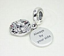 1999f60e9 Authentic Pandora #797671CZRMX Always By Your Side Dangle Charm with CZ
