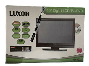 """Luxor 19"""" inch TV Television Built In DVD Player Freeview HDMI LUX-19-822-COB"""