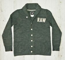 "G-STAR ""EWING CARDIGAN KNIT"" GREY SIZE XL"