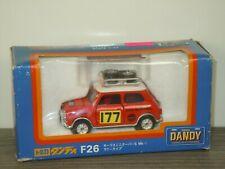 Morris Mini Cooper S MK-I Rallye Monte Carlo - Tomica Dandy F26 1:43 Box *41380