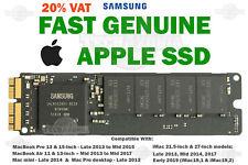 !!! leer!!! 🔥 Apple 256 512GB 1TB SSD MacBook Pro iMac 2013 2014 2015 A1502 A1398 Air
