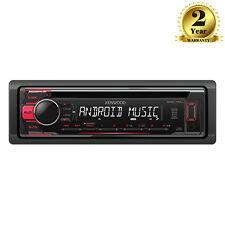 Kenwood KDC-110UR Sintonizador estéreo de automóvil CD MP3 Usb Auxiliar Android Iluminación Roja