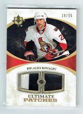 10-11 UD Ultimate  Alex Kovalev  /35  Patches