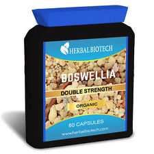 HerbalBioTech Organic Boswellia  60 Capsules Joints Natural Painkiller