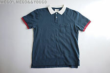Band of Outsiders BoO Thick Polo Short Sleeve Cotton Shirt Sz 3 Medium M