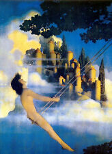 Dinky Bird   by Maxfield Parrish   Giclee Canvas Print Repro