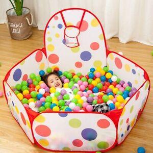 1.5M Portable Baby Playpen Basketball Hoop Kids Dry Ball Pool Playpen For Kids