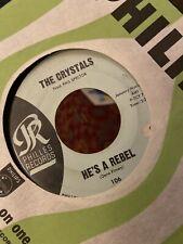"Crystals HE'S A REBEL / I LOVE YOU EDDIE 1962 45rpm 7"" Phillies 106 Darlene Love"