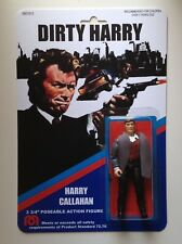 Custom made 3 3/4 Dirty Harry Callahan Vintage Style Action Figure