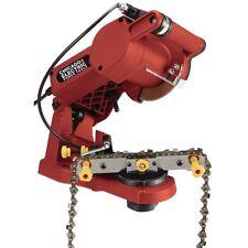 Electric Chain Saw Sharpener Mount Chainsaw Grinder Bench Mounted Garage Shop