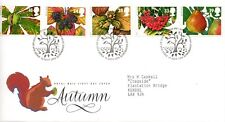 1993 Sg 1679/83 Autumn, The Four Seasons First Day Cover