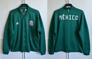 MEXICO NATIONAL FOOTBALL TEAM 2018 ADIDAS ZNE FULL ZIP JACKET TRACK SIZE XL-2XL