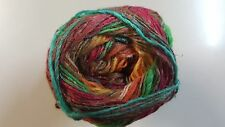 Noro Silk Garden Sock Yarn #S418 Persian Orange Mix 100g