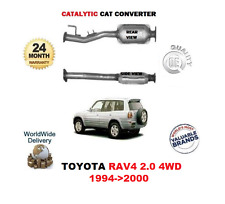 FOR TOYOTA RAV 4 2.0 4WD 1994 - 06/2000 NEW EXHAUST CAT CATALYTIC CONVERTER KIT