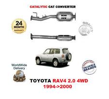 per Toyota Rav4 2.0 4WD 1994 - 06/2000 NUOVO SCARICO Convertitore Catalizzatore