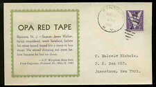 WWII PATRIOTIC-OPA RED TAPE 8/10/43 LINTO SHERMAN #5886