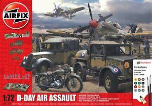 New Airfix 1:72nd Scale D-Day Air Assault Diorama Gift Set.