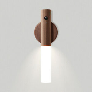 Motion Sensor Night Light USB Charge Staircase Hallway Human Induction Led Lamp