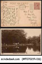Great Britain - 1922 Picture Postcard Of Alexander Park With Kgv Stamp Used