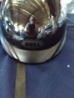 Blem Bell Pit Boss Motorcycle Half Helmet  Black Size XL / XXL