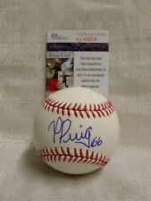 Yasiel Puig Signed Los Angeles Dodgers Major League Baseball JSA Q62663
