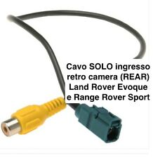 Cavo VIDEO IN ingresso retro camera LAND RANGE ROVER SPORT EVOQUE rear camera IN