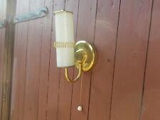 Art Deco - Bauhaus - Wandlampe - Opalglas - Tubas - Messing -