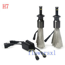 H7 Fanless Philips LED Headlight Conversion Kit Single beam water proof