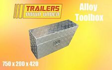 Aluminium Under Tray Toolbox | 50kg Capacity | Water and Dust proof
