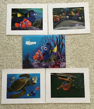 Disney Finding Nemo Art Lithograph 4 Print Set Special Edition with Portfolio