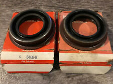 LOT OF 2 National Oil Seals 8460N Pinion Seal New In Box (Old Stock)