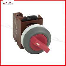 Industrial Control Box Red Rotary 2 Position Power Ignition Selector Switch 220v