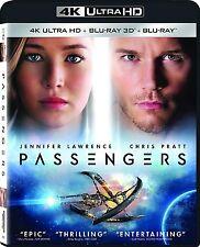Passengers (4K Ultra HD + 3D Blu-ray)(UHD)(Atmos)