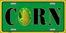 CORN Farm Agriculture Metal Novelty License Plate Car Front Tag