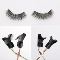 2 Pairs Of Quantum Magnetic False Eyelashes W/magnetic Curler Eyelash W2T3