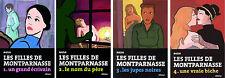 Lot Tétralogie-Série complète Les filles de Montparnasse Nadja éd° Olivius TBE