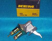 1978 Dodge Plymouth 4cyl 1.7L KEM Mechanical Fuel Pump 1161