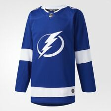 Authentic Tampa Bay Lightning Jersey Adidas Home Jersey NHL. NEW