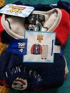 Boys Toy Story 4 Fleece Pyjamas Age 8/9 Brand New
