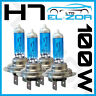 4 x H7 499/477 100W Xénon SUPER BLANC AMPOULES de phare croisement principal