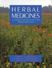 Herbal Medicines: A Guide for Health Care Professionals-ExLibrary