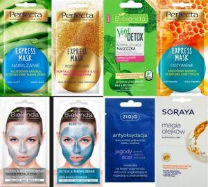 BIELENDA , PERFECTA, SORAYA, ZIAJA face masks