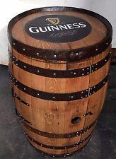 """Solid Oak Whisky Barrel Guinness """"Balmoral"""" Drinks Cabinet   Wine Rack"""