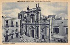 5591) CASTELLANETA (TARANTO) LARGO FEDERICO DE MARTINO E DUOMO. VIAGGIATA.