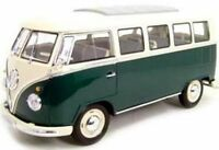 1:18 Welly Volkswagen VW T1 Samba Bully Bus 1962  grün