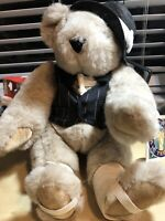 Vintage 1993 Vermont Teddy Bear Jazz Musician Plush with Tags