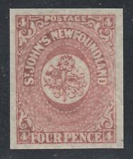 Newfoundland No. 18 Mint Hinged Extra Fine Single