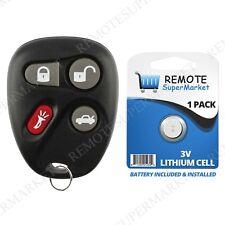 Replacement for Chevy Corvette Malibu SSR Remote Car Keyless Entry Key Fob
