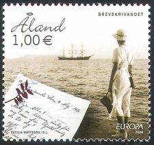 Aland 2008 Europa/Letter/Post/Mail/Sailing Ships/Boats/Transport 1v (n41588)