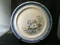 WEIGL COLLECTION BLUE DAWN DINNER PLATE STONEWARE MADE IN JAPAN OVEN TO TABLE